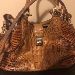 Brahmin-Elisa Melbourne Embossed Leather Hobo